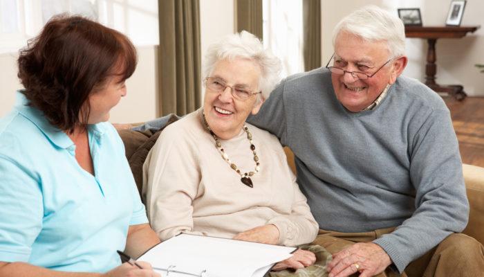 Senior-Couple-In-Discussion